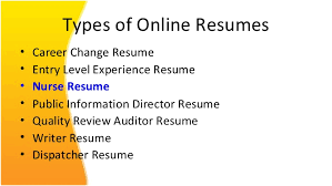 Beautiful Types Of Resume Ppt Pictures - Simple resume Office .