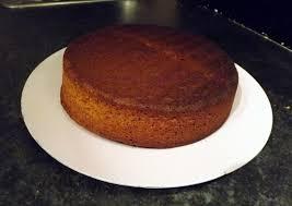 Volumes Round Sponge Cake Homemade Tapas