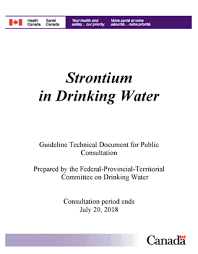 Poe Exp Efficiency Chart Strontium In Drinking Water Guideline Technical Document