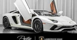 2018 Lamborghini Aventador S 2018 Lamborghini Aventador S Coupe 6 5l 12 Cylinder Engine Automa In 2021 Lamborghini Aventador Lamborghini Aventador For Sale Lamborghini