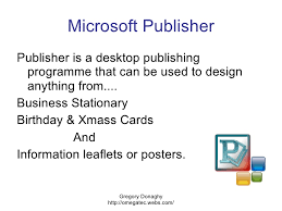 Ms Publisher Lesson Plans Microsoft Publisher Overview