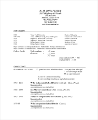 superintendent resume template 7 free word pdf documents .