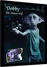Harry Potter Dobby Rámovaný Obraz Na Zeď Posterscz