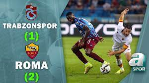 Trabzonspor 1-2 Roma MAÇ ÖZETİ (UEFA Avrupa Konferans Ligi Play Off) -  YouTube