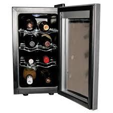 to own koolatron wc08 8 bottle countertop wine cooler black silver flexper
