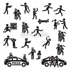 Ap Set Icon Crime Robbery Buy Photos Images Detailview Vector And