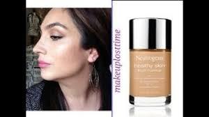get ations my take neutrogena healthy skin liquid foundation review