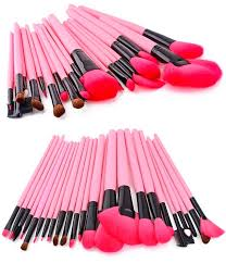 hot pink makeup brushes. pink glory brush set \u2013 my make up hot makeup brushes