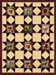 Horses Portraits Western Quilt Kit Precut Blocks from Quilt Kit ... & Horses Portraits Western Quilt Kit Precut Blocks from Quilt Kit Shop |  Quilts | Pinterest | Western quilts, Westerns and Horse Adamdwight.com