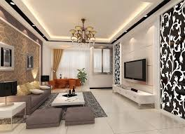 3d house interior design. interior design of living room with dining 3d house