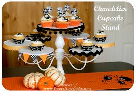 chandelier cupcake stand trash to treasure