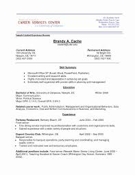 Job With No Work Experience Resume Template Examples Work Latter