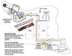 traditional jazzmaster wiring diagram
