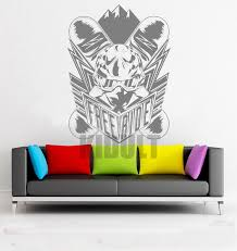 room deco furniture. Creative Wall Decals Ski Skiing Pattern Stickers Vinyl Childrenu0027s Room Family Home Interior Art Deco Painting Furniture