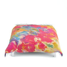 tie dye duvet cover double by covers