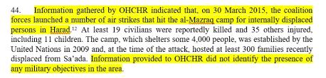 Targeting Al Mazraq 1 Idp Camp By Air Strikes Yemeni