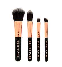 makeup revolution pro go mini brush set
