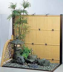 Small Picture Bonsai shelves create simplicity in Japanese Garden space