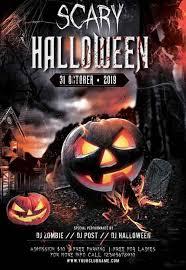 Halloween Dance Flyer Templates