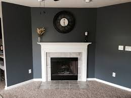 Tricorn Black Sherwin Williams Iron Ore Paint Color Sw 7069 By Sherwin Williams View Interior