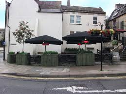 metre giant umbrella: giant umbrellas installed at the pig and fiddle bath for more information visit