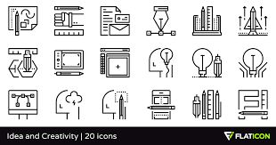 creative furniture icons set flat design. Creative Furniture Icons Set Flat Design.  Design N
