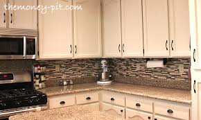 Kitchen  Glass Tile Kitchen Backsplash With Fresh Modern Kitchen Backsplas