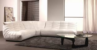 b 240b contemporary leather sectional