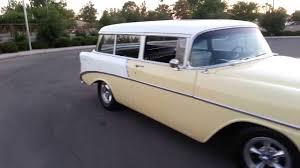1956 chevy 210 2 door handyman wagon - YouTube