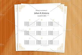 020 Wedding Seating Chart Template Printable Rustic Cards