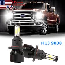 2005 Ford F350 Cab Lights Details About For Ford F150 2003 2014 F 250 F 350 Super Duty 2005 18 4 Side H13 Led Headlight