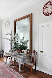 Light Grey Hallway with Large Mirror in hallway ideas on HOUSE - design,  food and