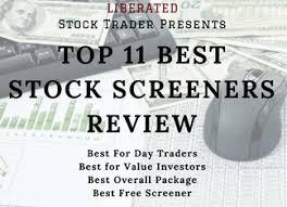 Top 10 Best Stock Screeners Scanner Apps Review 2019