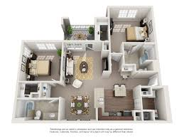 1, 2 and 3 Bedroom Floor Plans   The Shores Apartments