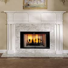 alexandria 52 in x 39 wood fireplace mantel surround throughout mantels remodel 5