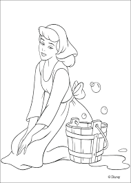 Coloring Pages Of Cinderella Coloring Pages Free Printable For Kids