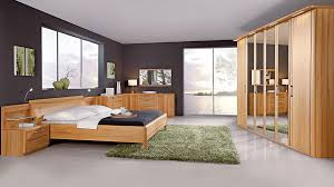 Modernes C Disselkamp Schlafzimmer Mit Bettgestell Kernbuche Bad