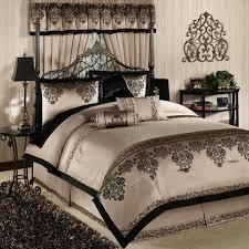 bedroom black and white comforter sets desk rug comfort bed pillow animal print bedding set