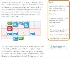 a point checklist for creating a case study that converts chair 10 case study