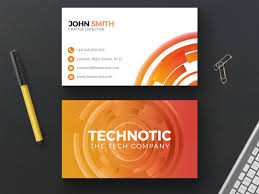 tech business card 100 free business cards psd the best of free business cards