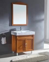 modern single sink bathroom vanities. Modern Single Sink Bathroom Vanity In Honey Oak · Loading Zoom Vanities