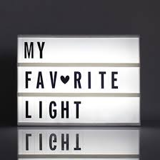 Top 99 Cheap Products Led Cinematic Light Box With Letters In Romo