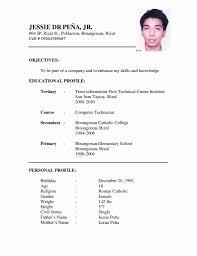 Easy Resume Format Lcysne Com