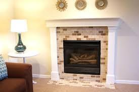 fireplace backsplash ideas fireplace backsplash tile accessories amazing decoration ideas with painting tile around amazing
