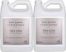 com black diamond nex gen natural stone penetrating sealer seals protects granite marble travertine limestone concrete grout tile brick