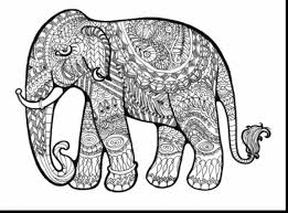 Small Picture astounding hard coloring pages elephant with free coloring pages