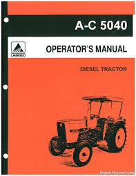 allis chalmers 5040 6 speed 9 speed trans operators manual allis chalmers 5040 6 speed 9 speed trans operators manual