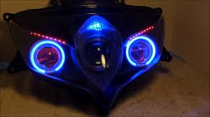 Hid Lights For Gsxr 600 4 2008 2010 Suzuki Gsxr 600 750 Hid Projector Headlights By