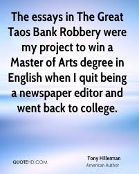 cover letter bank robbery essay good bank robbery essay bank  cover letter a bank robbery essay tony hillerman author the essays in great taos werebank robbery