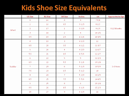 Kids Shoe Size Chart Inches 71 Most Popular Toddler Shoe Size Converter